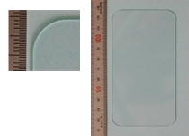 高精度外形加工例 レーザー加工機2