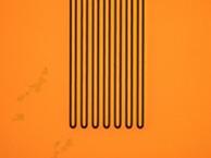 微細パターン加工例 デジタル露光機3