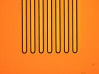 微細パターン加工例 デジタル露光機4