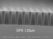 微細パターン加工例 デジタル露光機5